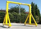 mobile workshop gantry crane